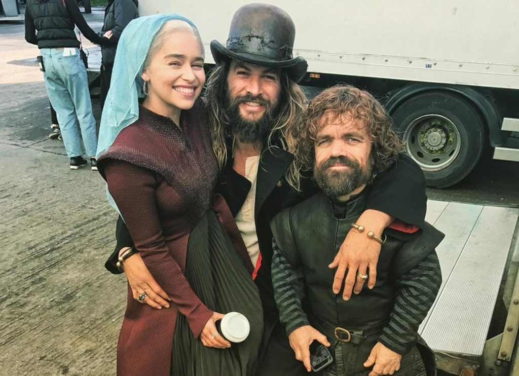 He always visits Emilia Clarke and other GoT co-stars | 8 Things Everyone Should Know About Jason Momoa | Zestradar
