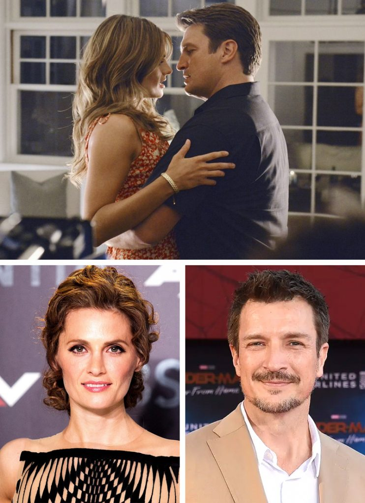Kate Beckett and Richard Castle (Castle) | Here's What Our Favourite 9 TV Couples Look Like Now | Zestradar