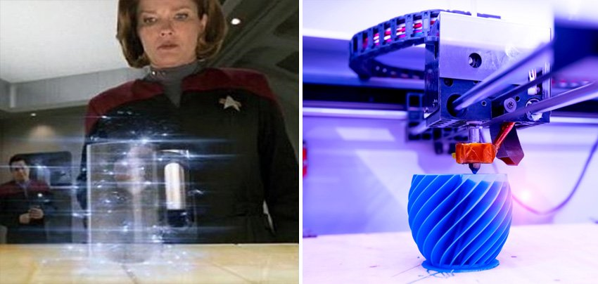 3D Printer | 10 Fictional Scientific Inventions That Went From Screen to Real Life | Zestradar