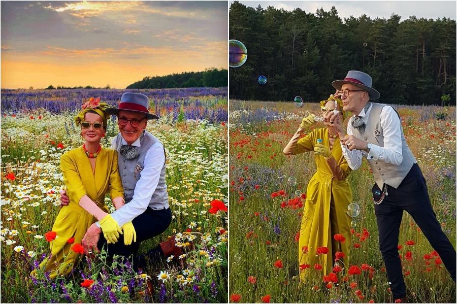 #1 | Elderly German Couple Whose Fashion Style Is Pure Fire | Zestradar