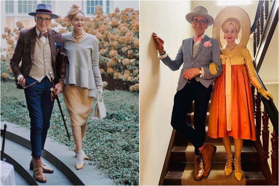 #6 | Elderly German Couple Whose Fashion Style Is Pure Fire | Zestradar