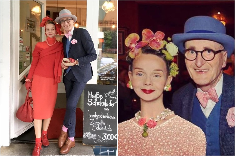 #7 | Elderly German Couple Whose Fashion Style Is Pure Fire | Zestradar