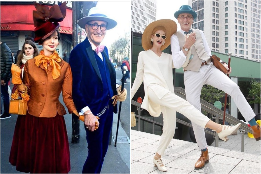Elderly German Couple Whose Fashion Style Is Pure Fire | Zestradar