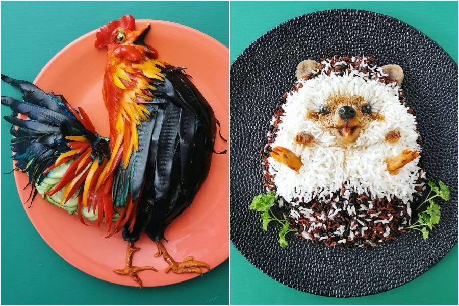 Mom From Belgium Creates Incredible Food Art #4 | Brain Berries