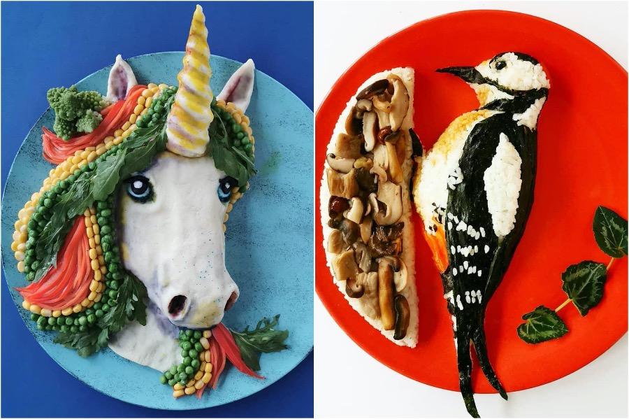 Mom From Belgium Creates Incredible Food Art #5 | Brain Berries
