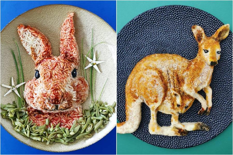 Mom From Belgium Creates Incredible Food Art #6 | Brain Berries