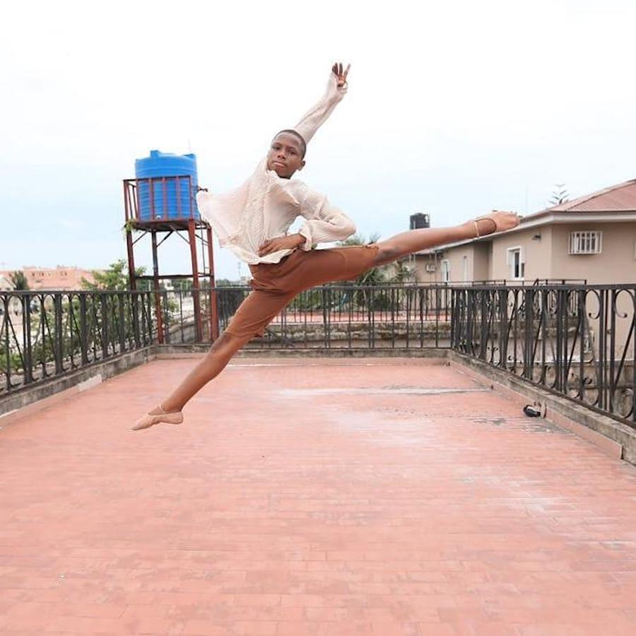 #2 | Nigerian Boy Dancing In The Rain Gets Him An American Ballet Scholarship | Zestradar