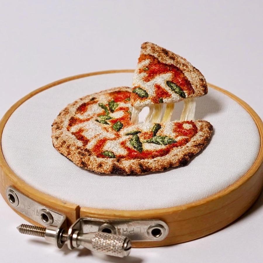 Realistic Food Embroidery That'll Make You Salivate #5 | Brain Berries