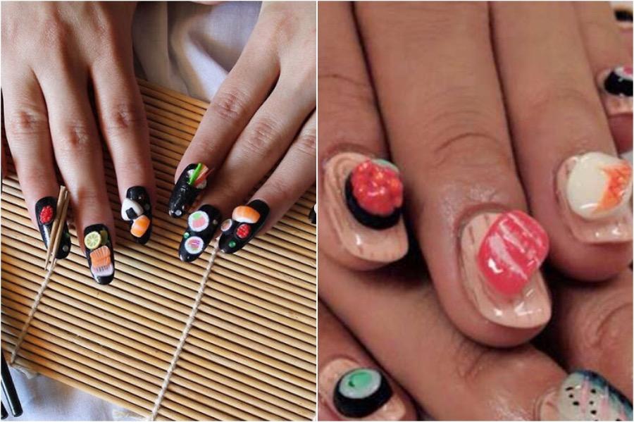 Sushi Nail Art | The Craziest Nail Art Trends | Zestradar