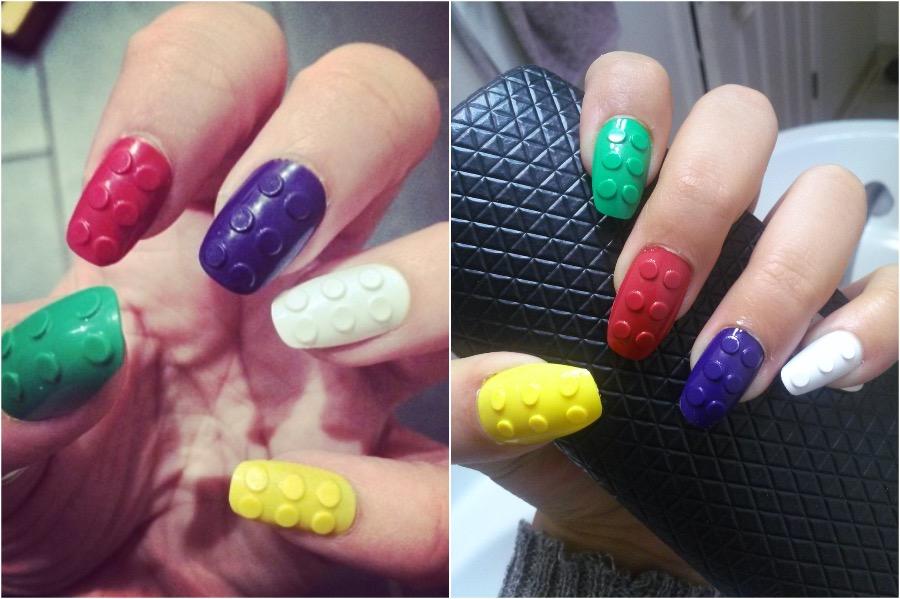 Lego Nail Art | The Craziest Nail Art Trends | Zestradar