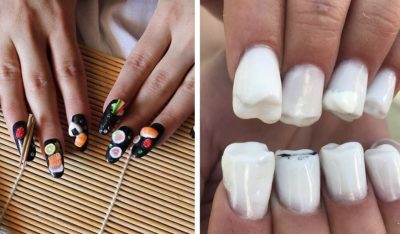The Craziest Nail Art Trends | Zestradar
