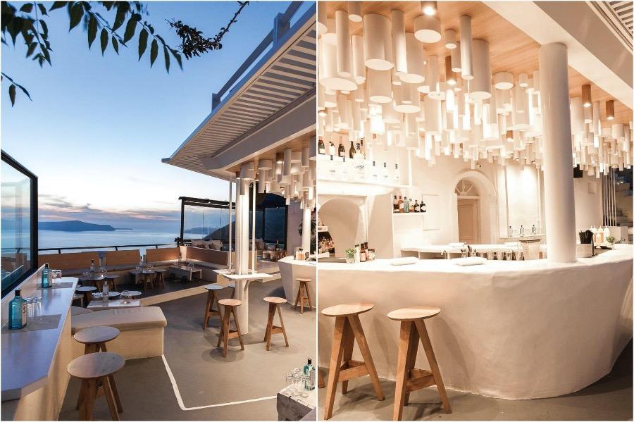 Tango Bar, Santorini | The 8 Most Beautiful Cafes In Greece | Zestradar