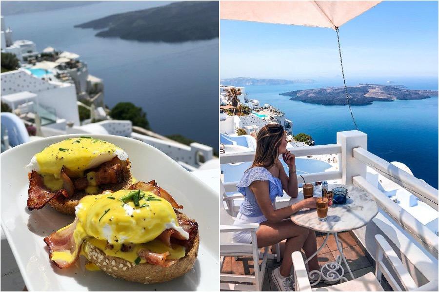 Galini Cafe, Santorini | The 8 Most Beautiful Cafes In Greece | Zestradar