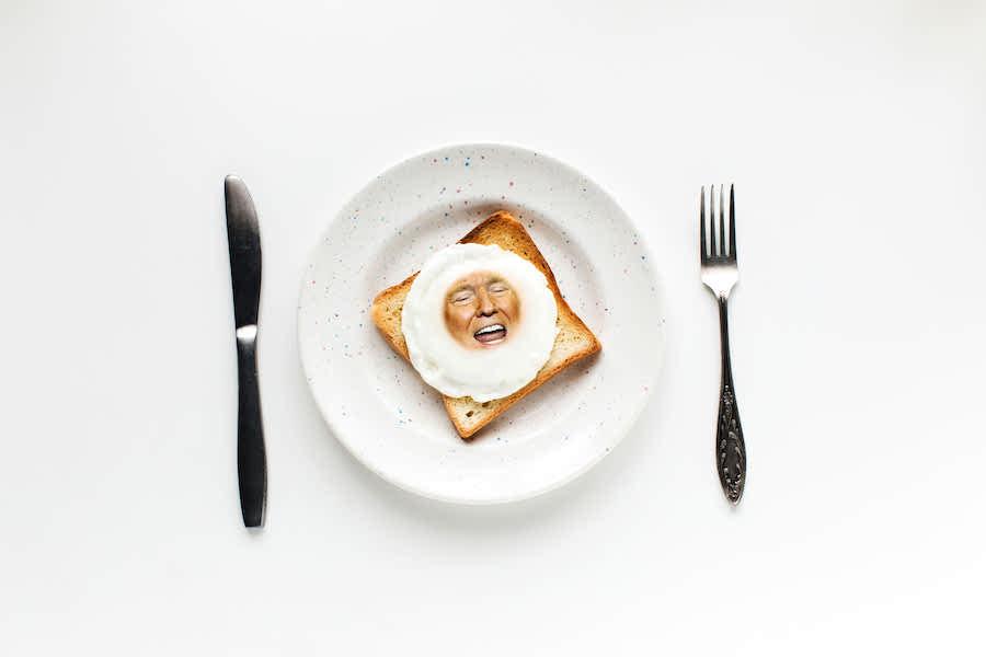 Bad Egg | Trump As America's Favourite Breakfast | Zestradar