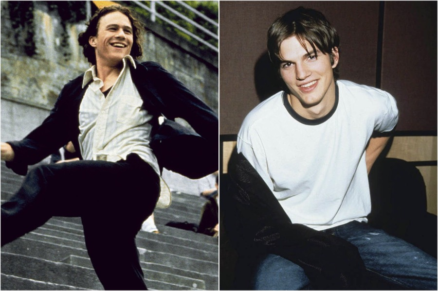 10 Things I Hate About You, Heath Ledge - Ashton Kutcher | You Won't Believe The Famous Actors That Were Recast | Zestradar