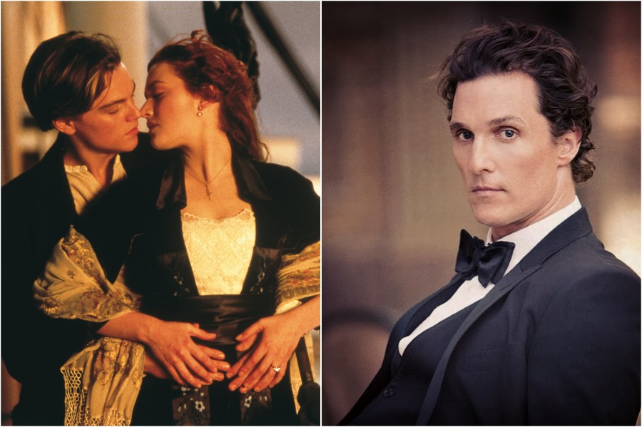 Titanic, Leonardo DiCaprio - Matthew McConaughey | You Won't Believe The Famous Actors That Were Recast | Zestradar