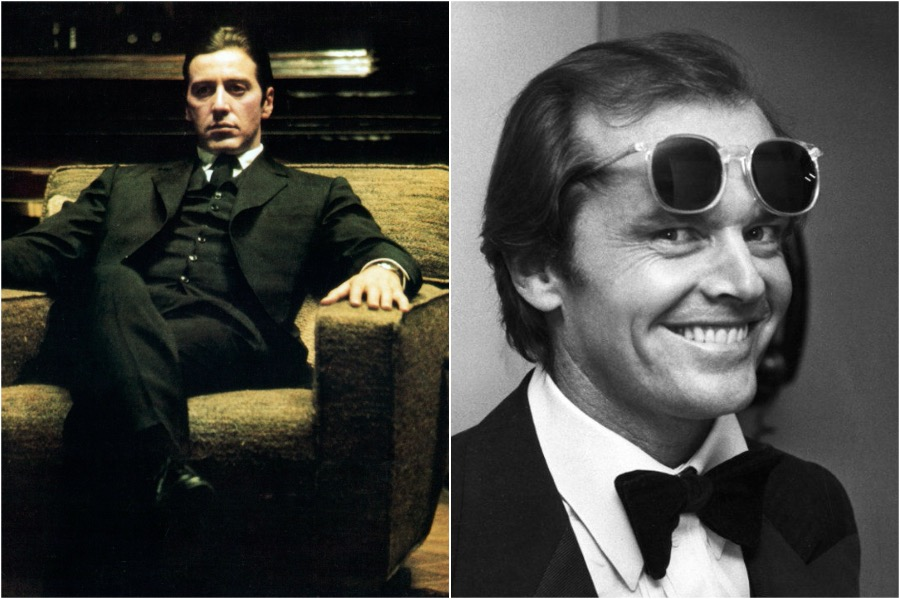 The Godfather, Al Pacino - Jack Nicholson | You Won't Believe The Famous Actors That Were Recast | Zestradar