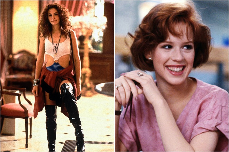 Pretty Woman, Julia Roberts - Molly Ringwald | You Won't Believe The Famous Actors That Were Recast | Zestradar