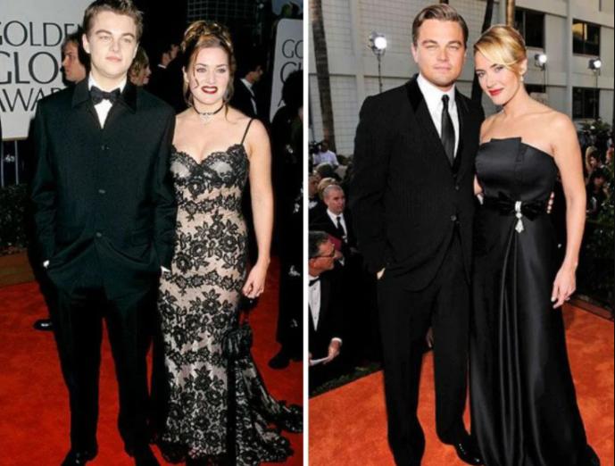 Кейт Уинслет и Леонардо ДиКаприо, «Титаник» | Как изменились герои культовых фильмов 90х | Zestradar