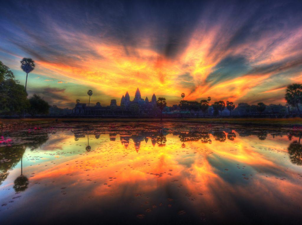 Angkor Wat (Cambodia) | 10 of the World's Best Sunset Spots | Zestradar