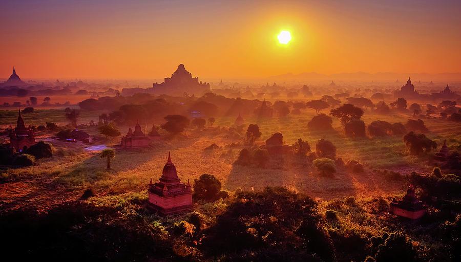 Bagan (Myanmar) | 10 of the World's Best Sunset Spots | Zestradar