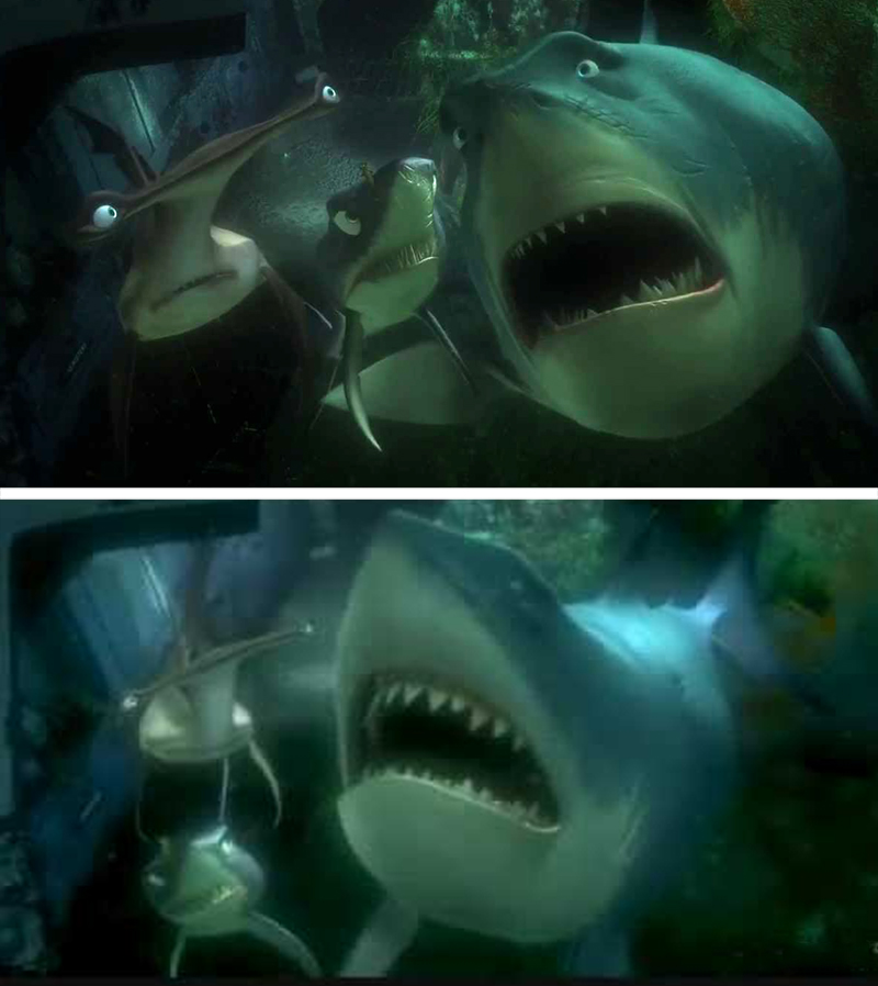 Finding Nemo | 12 Really Cool Details in Pixar Movies No One Spotted Until Now | Zestradar