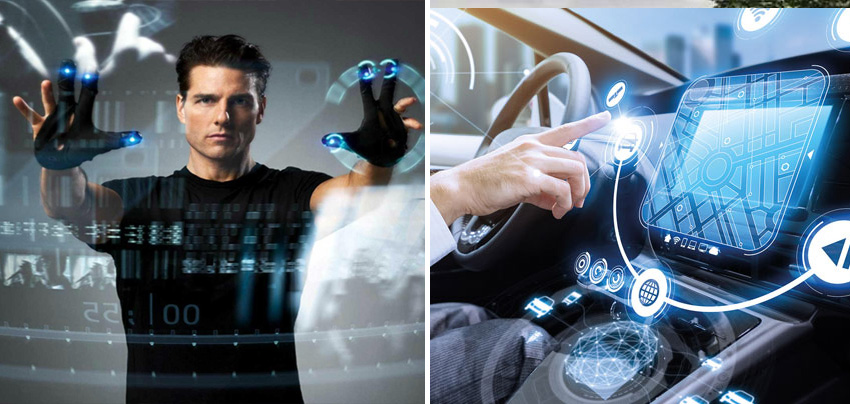 Gesture-Activated Devices | 10 Fictional Scientific Inventions That Went From Screen to Real Life | Zestradar