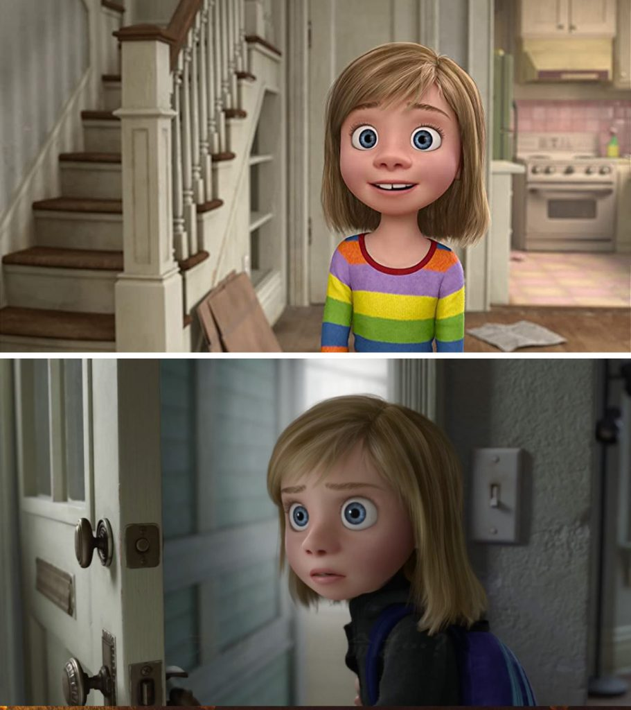 Inside Out | 12 Really Cool Details in Pixar Movies No One Spotted Until Now | Zestradar