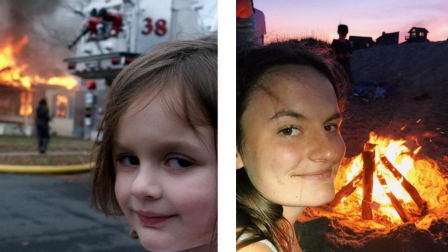 «Девочка-Катастрофа» | Как изменились наши любимые персонажи мемов? | Zestradar