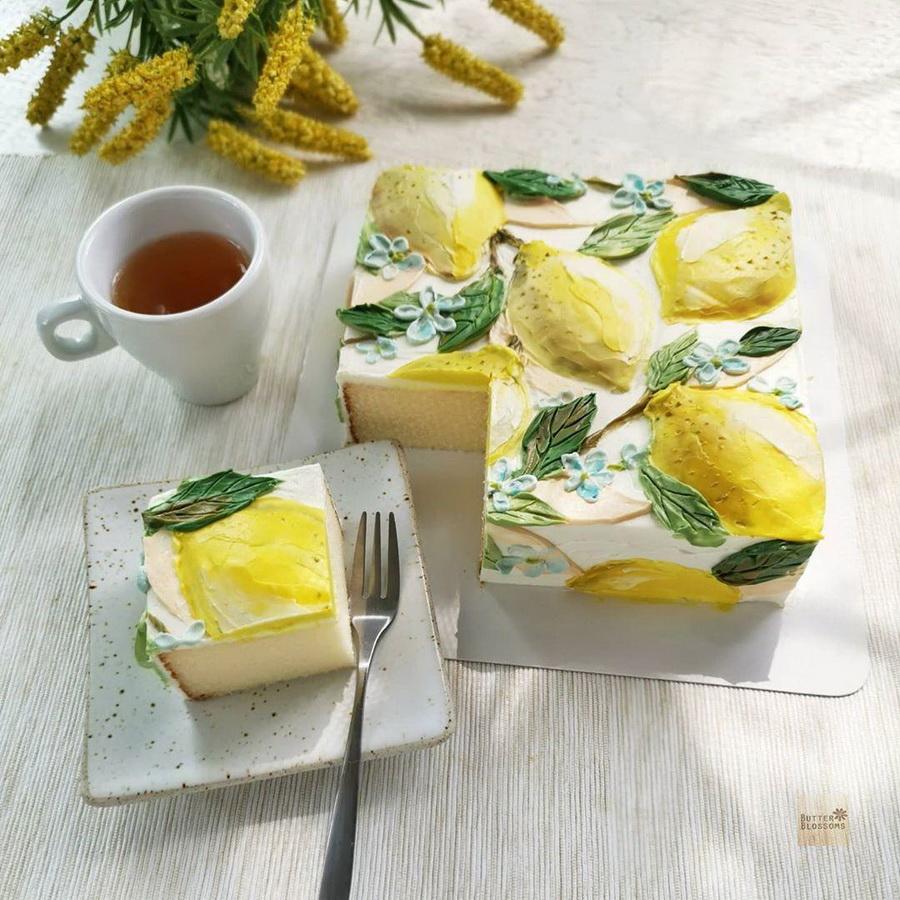 #2 | Шедевры кондитерского искусства: торты с цветами из масляного крема | Zestradar
