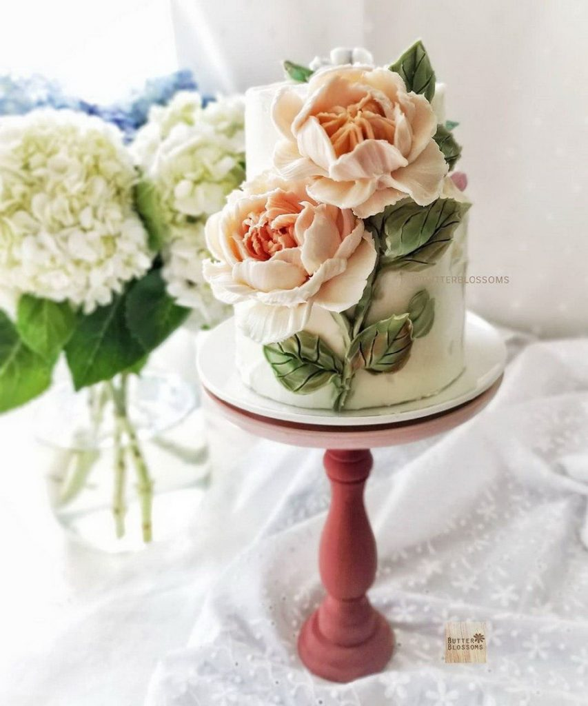 #3 | Шедевры кондитерского искусства: торты с цветами из масляного крема | Zestradar