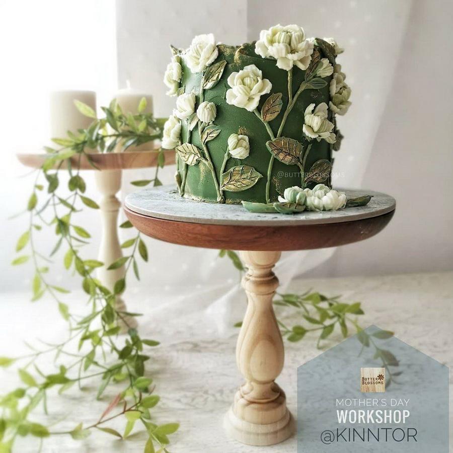 #5 | Шедевры кондитерского искусства: торты с цветами из масляного крема | Zestradar