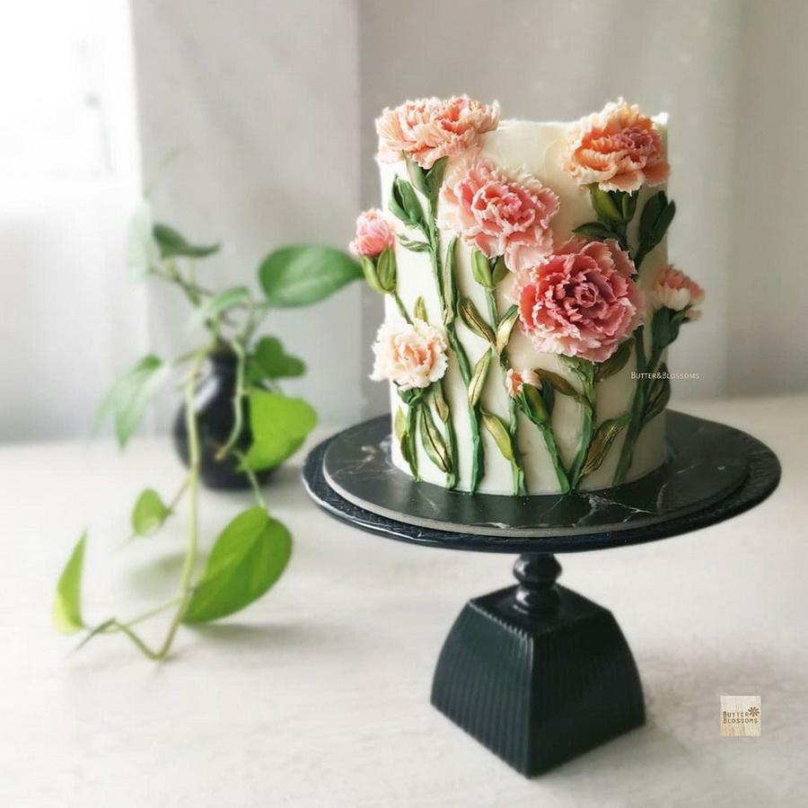 #8 | Шедевры кондитерского искусства: торты с цветами из масляного крема | Zestradar