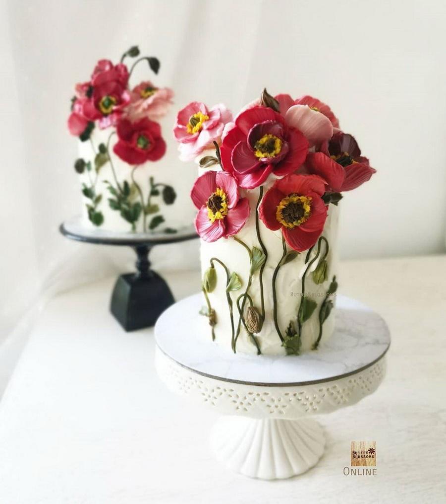 #10 | Шедевры кондитерского искусства: торты с цветами из масляного крема | Zestradar
