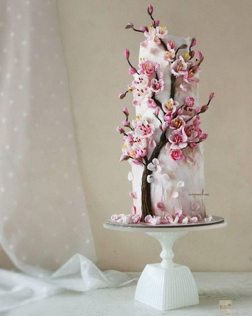 #11 | Шедевры кондитерского искусства: торты с цветами из масляного крема | Zestradar