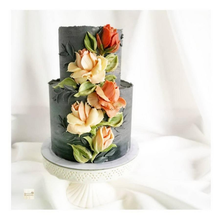 #13 | Шедевры кондитерского искусства: торты с цветами из масляного крема | Zestradar