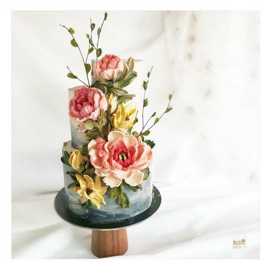 #15 | Шедевры кондитерского искусства: торты с цветами из масляного крема | Zestradar
