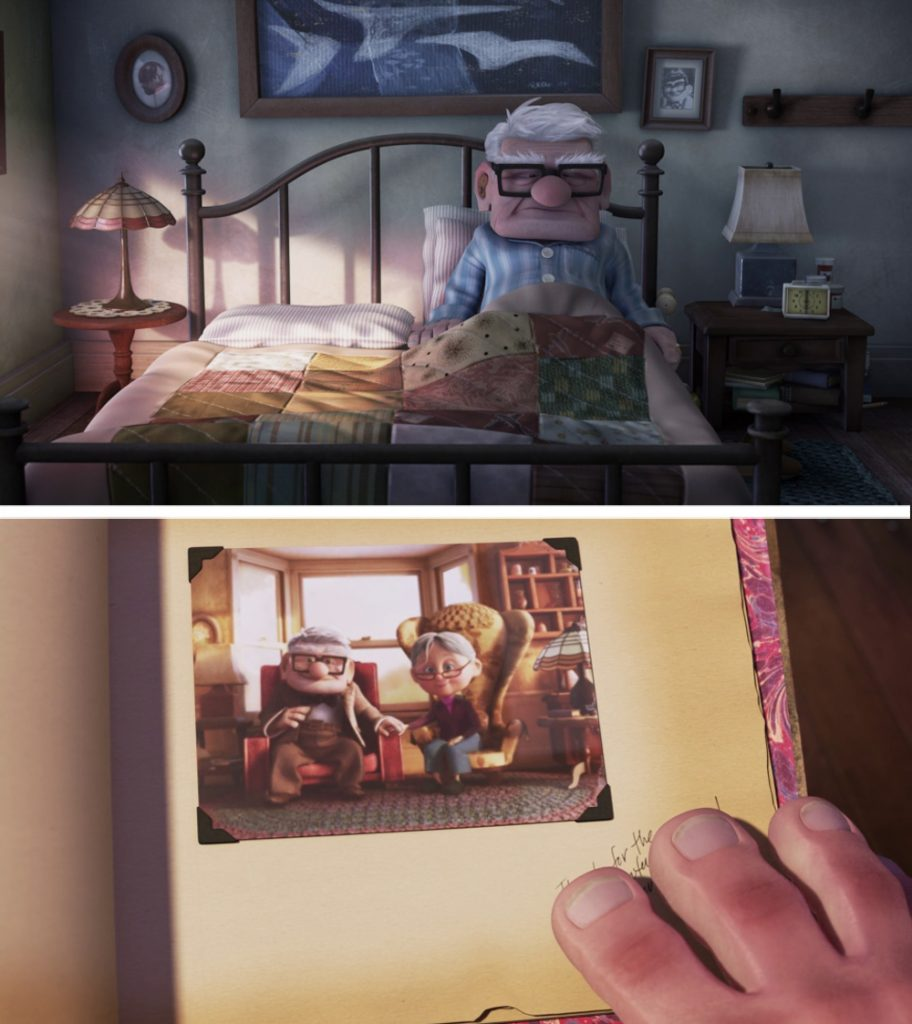 Up | 12 Really Cool Details in Pixar Movies No One Spotted Until Now | Zestradar