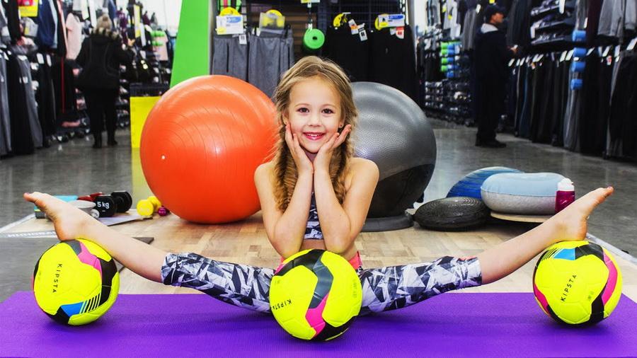 #9 | Варвара Гордеева – самый гибкий ребенок в мире | Zestradar