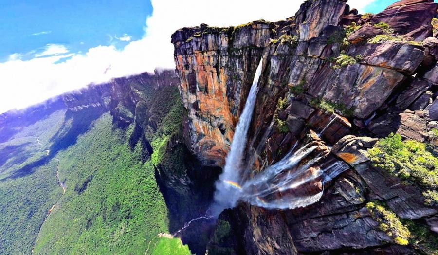 Водопад Анхель | Самые удивительные водопады планеты | Zestradar