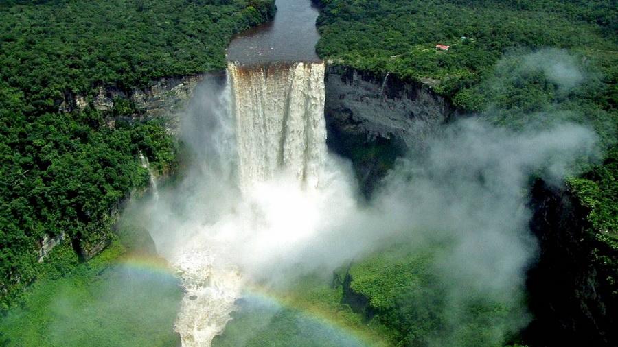 Водопад Кайетур | Самые удивительные водопады планеты | Zestradar