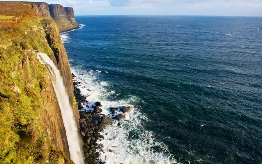 Водопад Килт Фоллс | Самые удивительные водопады планеты | Zestradar