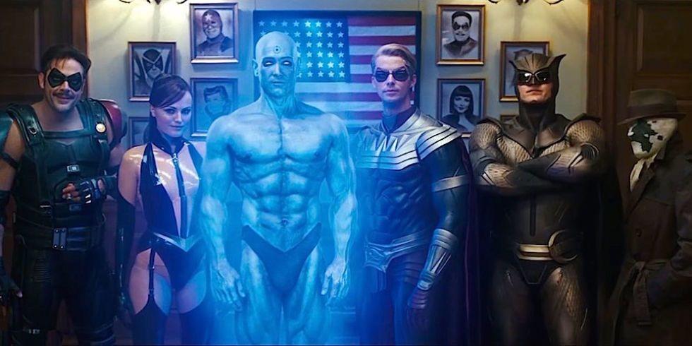 «Хранители», 2009 | 10 лучших фильмов про супергероев | Zestradar