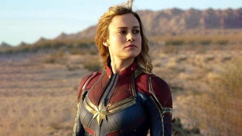 Captain Marvel  | 8 Greatest Women Of Marvel Universe | Zestradar