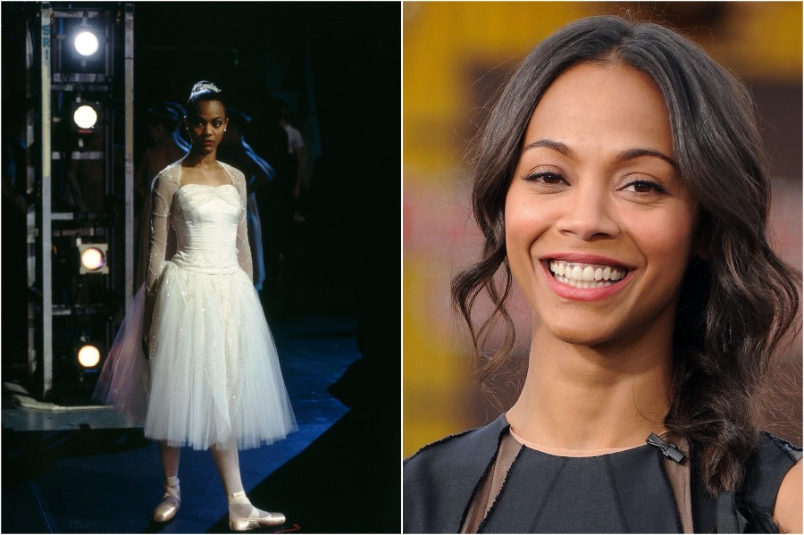 Zoe Saldana | Famous Actresses Who Could've Become Ballerinas | Zestradar