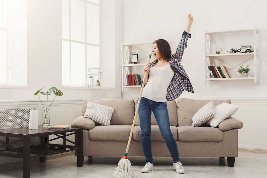 Keep Your Home Clean | Free Self-Care Things To Do When Money Is Tight | Zestradar