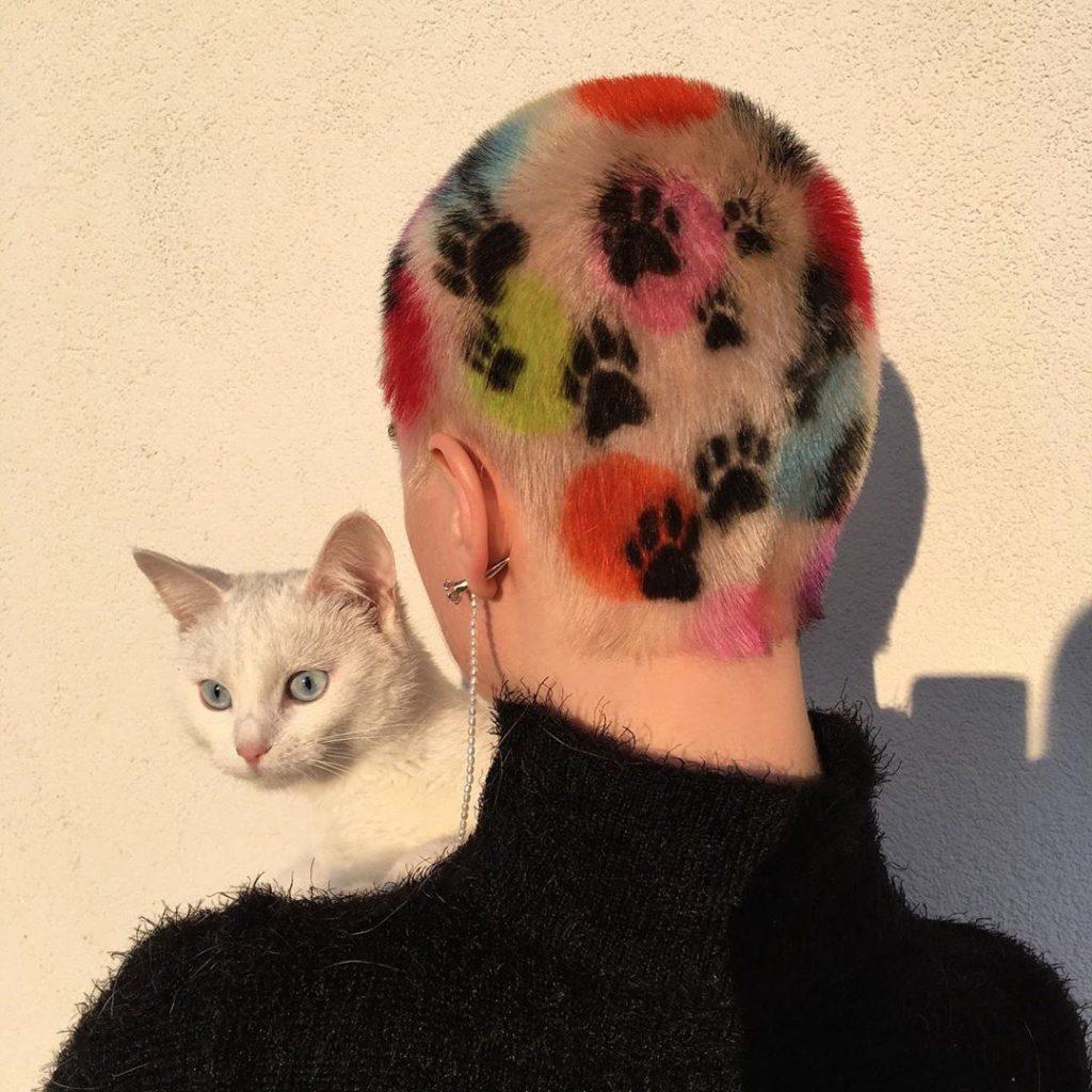#1 | Красим волосы в безумные цвета, как Ребекка Матейдес | Zestradar