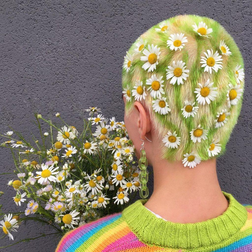 #12 | Красим волосы в безумные цвета, как Ребекка Матейдес | Zestradar