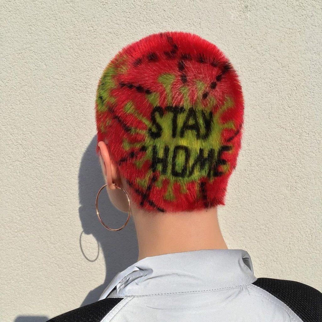 #14 | Красим волосы в безумные цвета, как Ребекка Матейдес | Zestradar