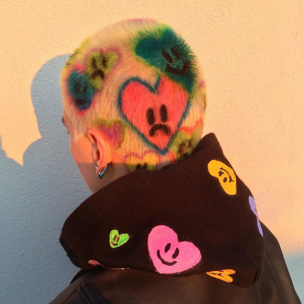 #16 | Красим волосы в безумные цвета, как Ребекка Матейдес | Zestradar